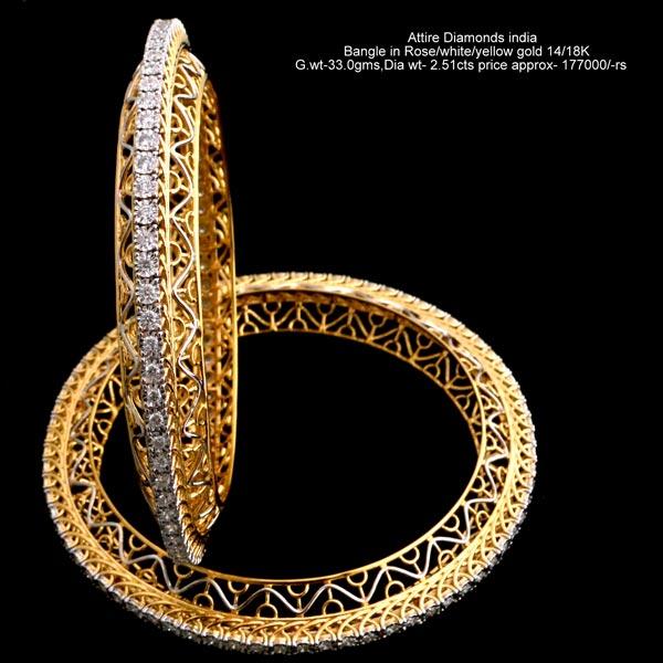 e5444b114c5d49 Diamond Bangles,Fashion Diamond Bangles,Gold Designer Diamond Bangle ...