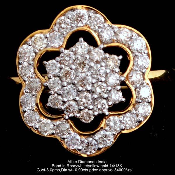 Ladies Traditional Diamond Rings