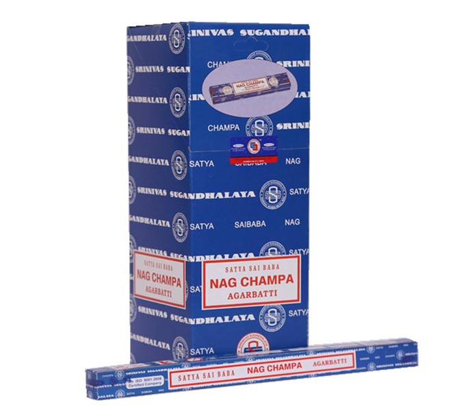 10 gm Satya Sai Baba Nag Champa Incense Sticks
