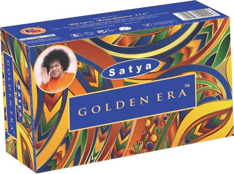 15 g Satya Golden Era Incense Sticks