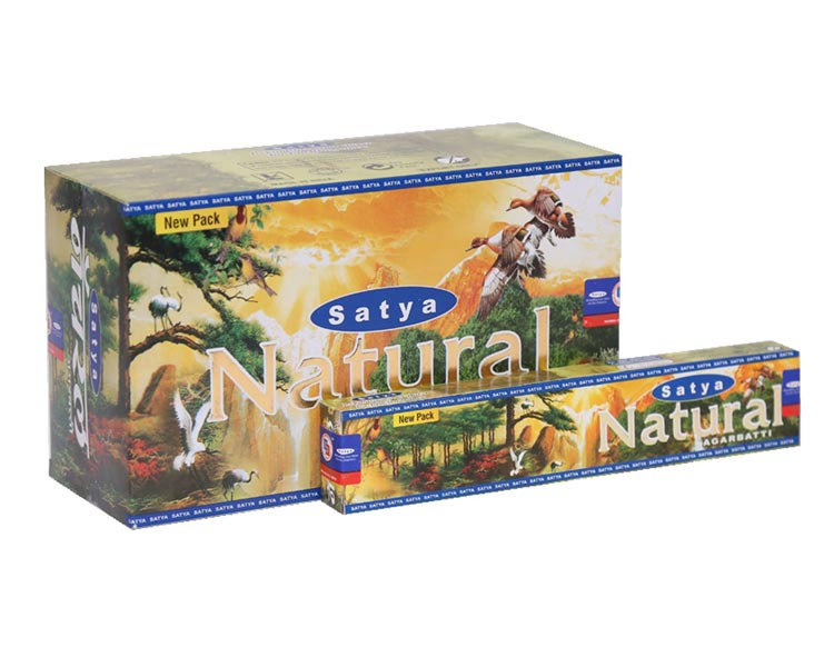 15 gm Satya Natural Sweet Earthy Incense Sticks