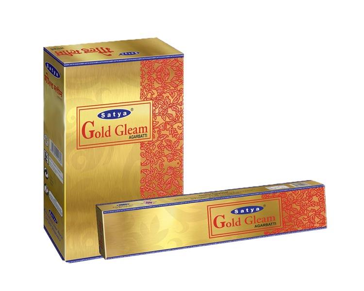 Satya Gold Gleam Incense Sticks