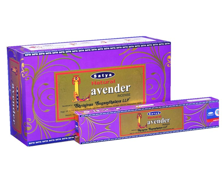 Satya Natural Lavender Incense Sticks