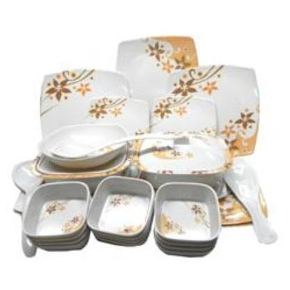 Square Dinner Set (35 Pcs)