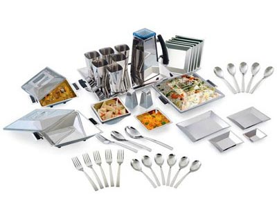 Square Dinner Set (41 Pcs)