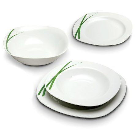 Square Dinner Set (53 Pcs)