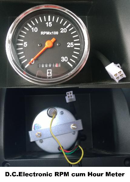 Analague RPM cum Hour Meter