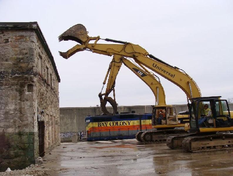 Hydraulic Dismantling