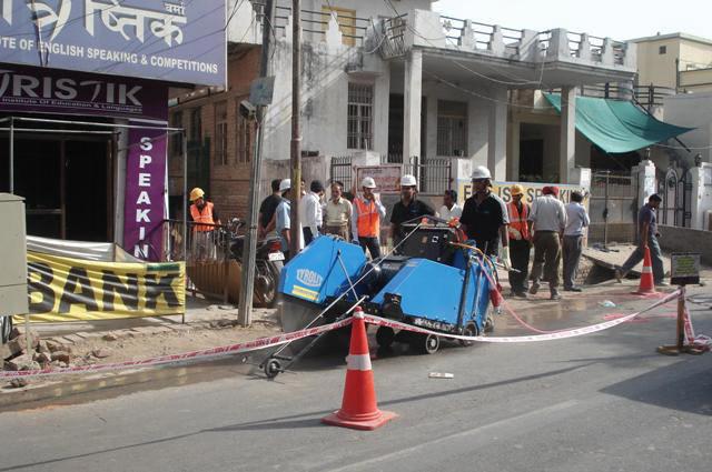 Road Cutting Work