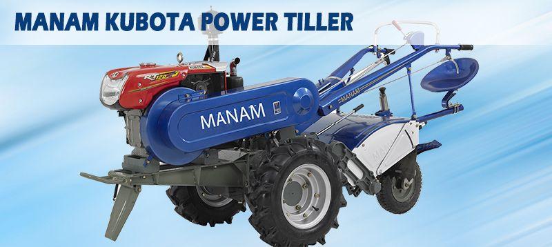 Manam Kubota Power Tiller