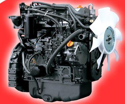 Yanmar Harvester Engine