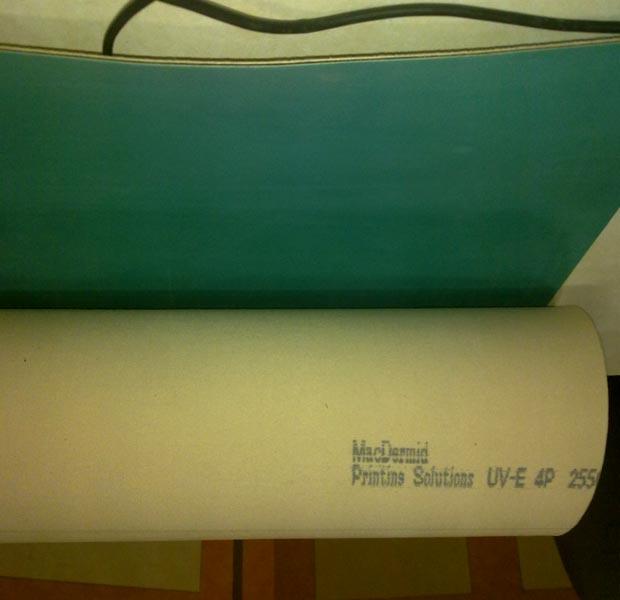 UV Inks Rubber Blanket 01