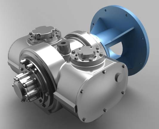 Oil Free Screw Air Compressor (TP15BV/TP18BV)