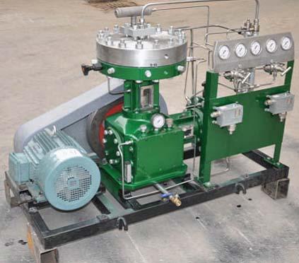 Helium Compressor (GL-30-5-200,200bar)