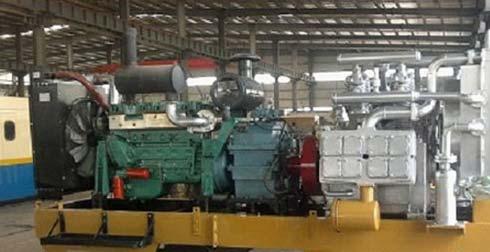 High Pressure Air Compressor (Diesel Driven)