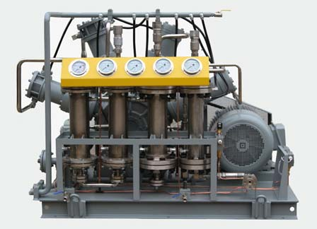 Argon Oil Free Gas Compressor