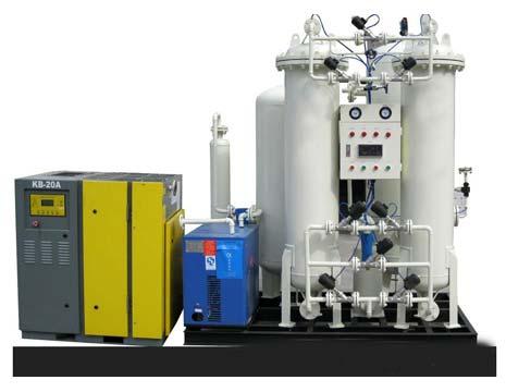 Liquid Nitrogen Generator (PSA 97%-99.999%)
