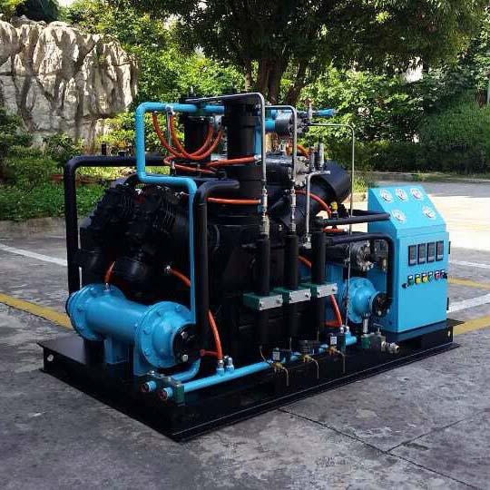 Oil Free Gas Compressor (USA RIX 35Mpa)
