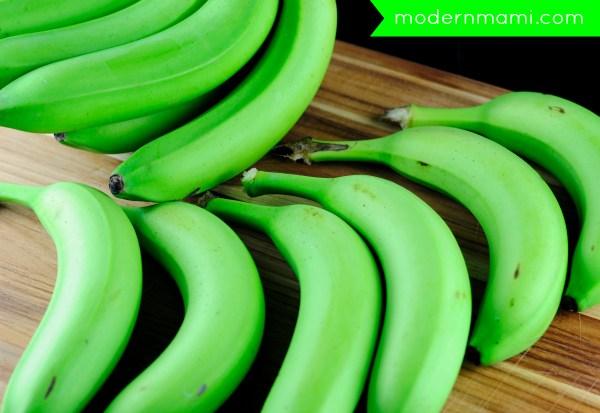 Fresh Green Banana 02
