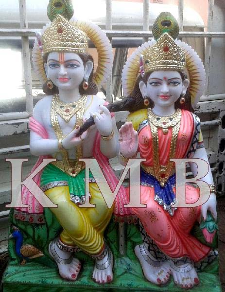 Radha Krishna Statue 01