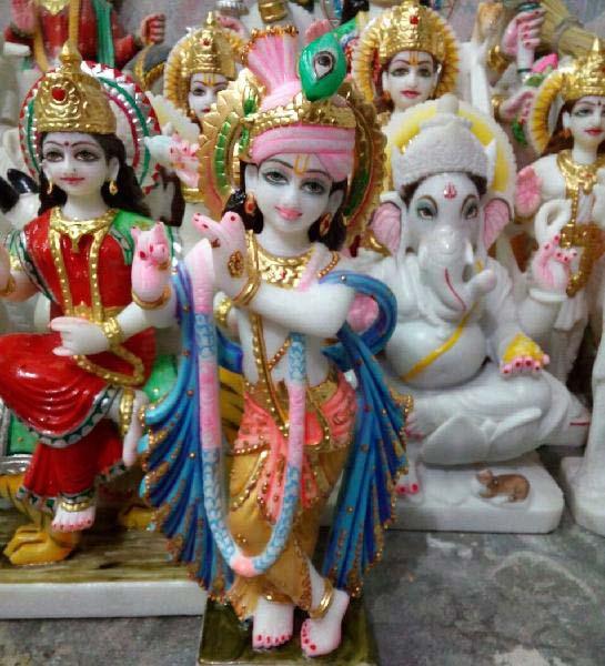 Radha Krishna Statue 02