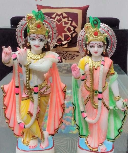 Radha Krishna Statues 04