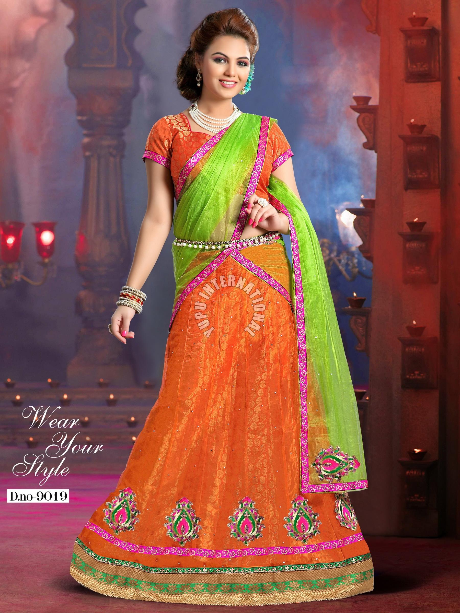 Party Wear Fish Cut Lehenga