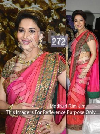 Multi Mirror Sarees