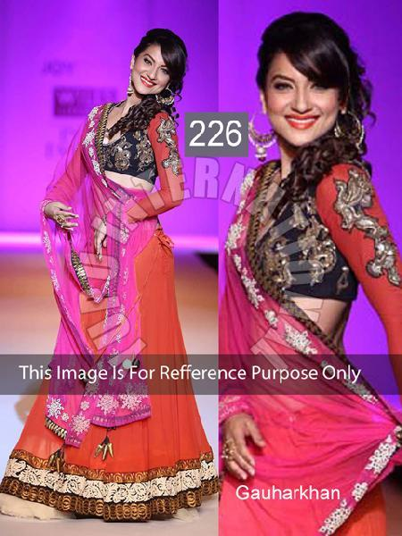 Multi Sequence Lehenga
