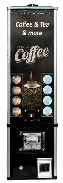 Coffee Capsule Vending Machine