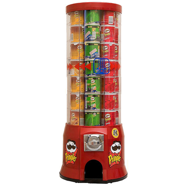 Pringles Vending Machine