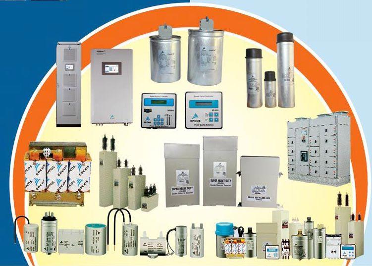 Epcos LT Capacitors & Reactors