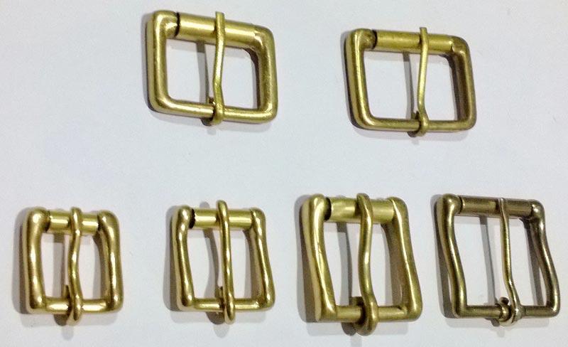 Brass Roller Belt Buckles