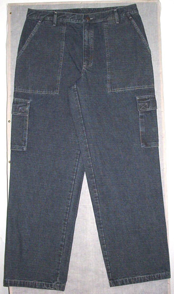 Denim Cargo Trouser