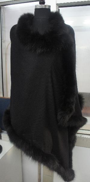 Fur Pashmina shawls