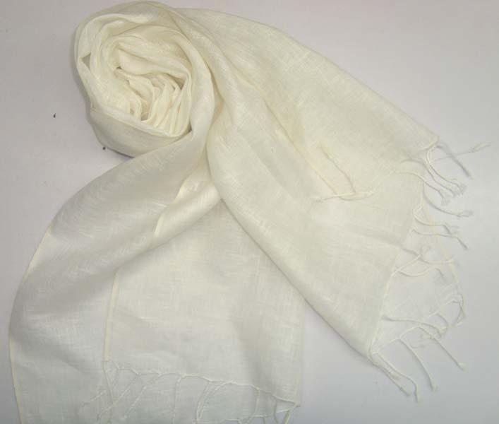 linen scarfs
