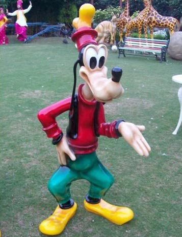 Goofy Sculpture