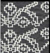 Embroidered Mesh Fabric 03