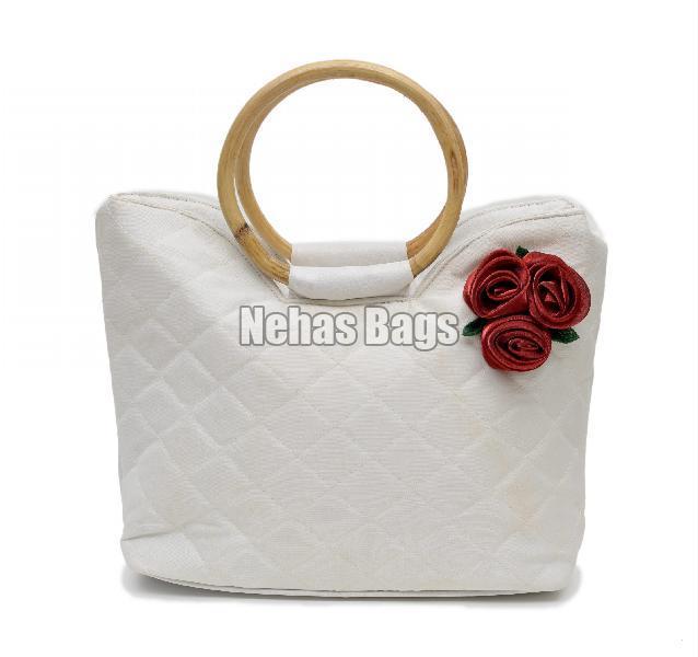 Pure Dove Silk Hand Bag ( NHSC - 067)
