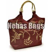 Ladies Metal Handle Bags