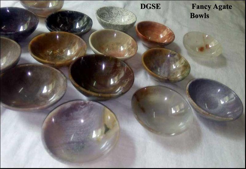 Fancy Agate Bowls