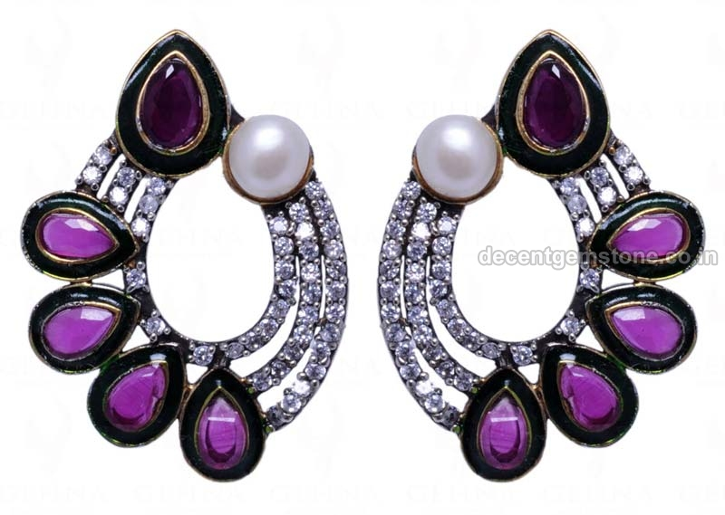 Gemstone Earrings 05