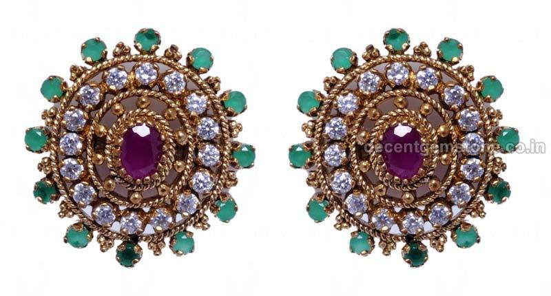 Gemstone Earrings 07