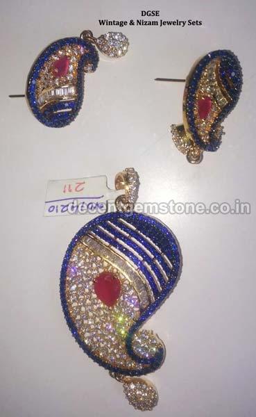 Gemstone Earrings 10