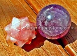 Rose Crystal Spheres