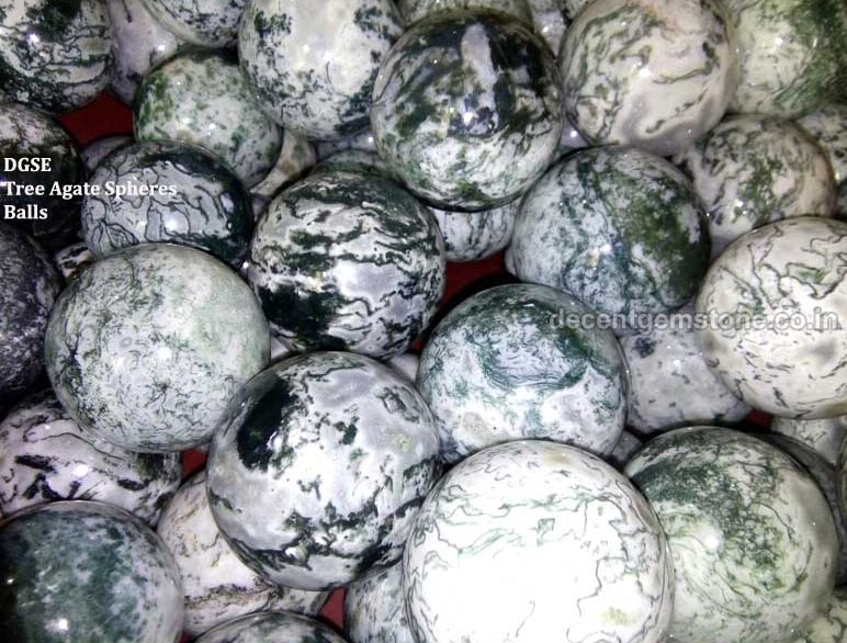 Tree Agate Sphere Ball