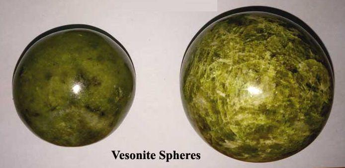 Vesconite Spheres Gemstone