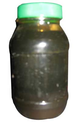Coconut Oil Sludge