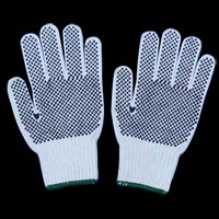 Cotton Knitted Dotted Hand Gloves