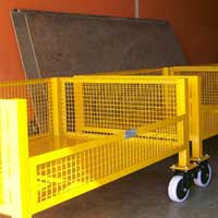 Steel Trolley (SVT - ST - 006)